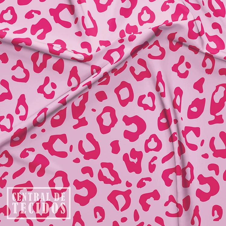 Supertouch Estampado   Animal Print Pink