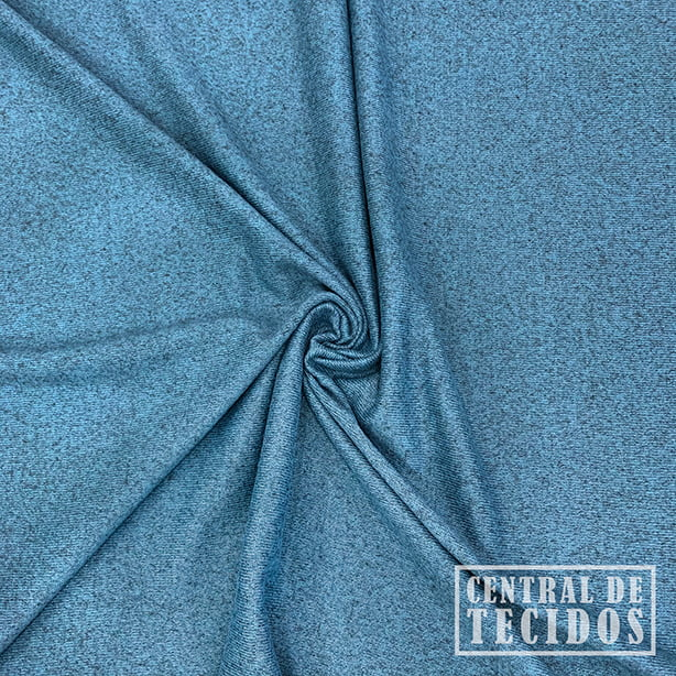 Malha Tricot Winter | Azul