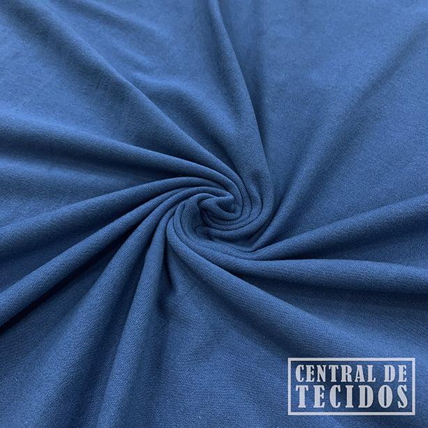 Malha Cotton Light | Azul jeans