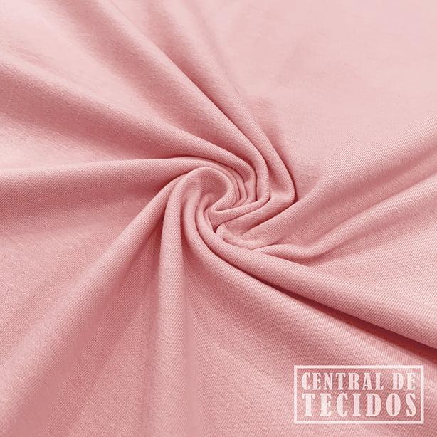 Malha Cotton Light | Rosa claro