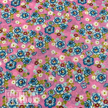 Chita Estampada | Rosa Floral Florido