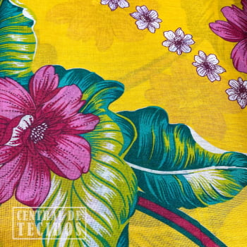 Chita Estampada | Amarelo Colar Floral