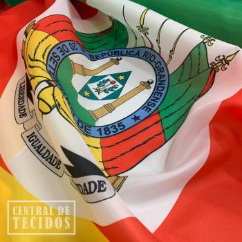 Tecido Bandeira do Rio Grande do Sul   Failete