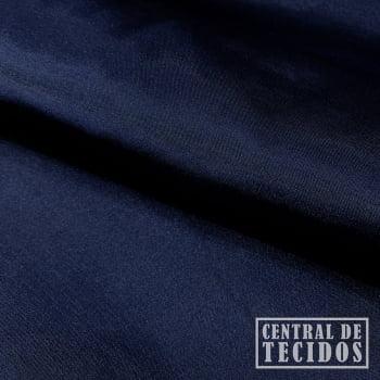 Cetim com elastano | Azul Marinho