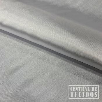 Cetim com elastano | Cinza prata