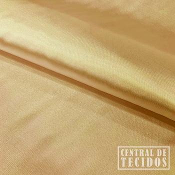 Cetim com elastano | Dourado