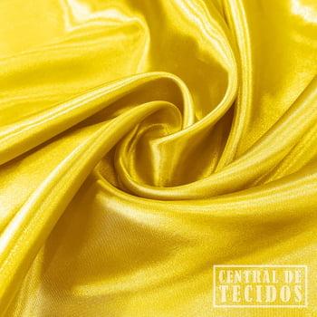 Cetim Liso | Amarelo