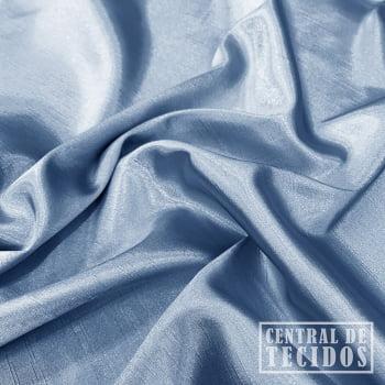 Shantung com elastano | Azul claro