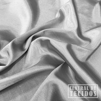 Shantung com elastano | Cinza
