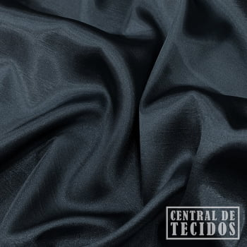 Shantung com elastano | Cinza escuro