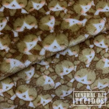 Fleece Estampado | Gatos