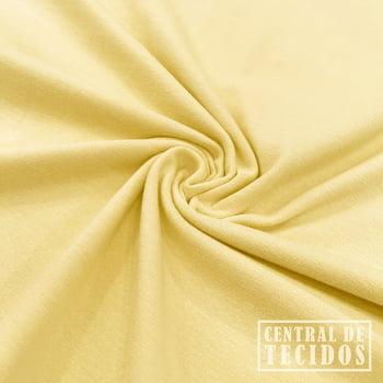 Malha Cotton Light | Amarelo claro