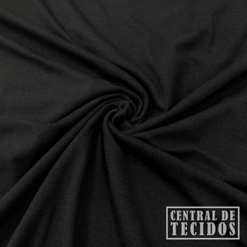 Malha Cotton Light | Preto