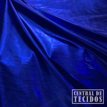 Malha Laminada | Azul Royal