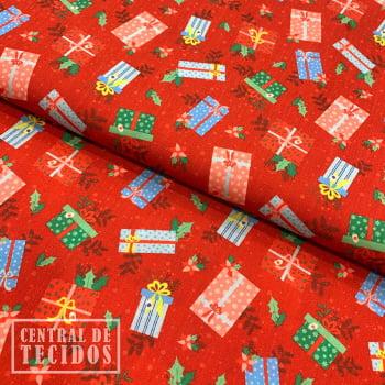 Tricoline Digital | Natal Vermelho Presentes