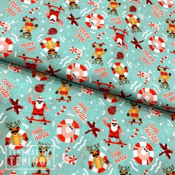 Tricoline Digital | Natal Papai Noel no Skate