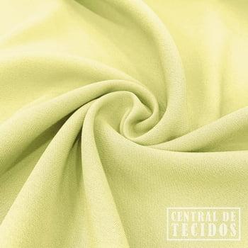 Gabardine Two Way com Elastano | Amarelo limão