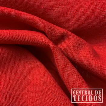 Linho Linen Rayon | Vermelho