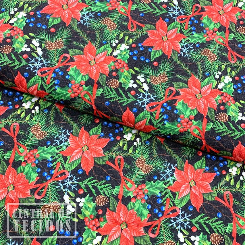 Tricoline Digital | Natal Floral