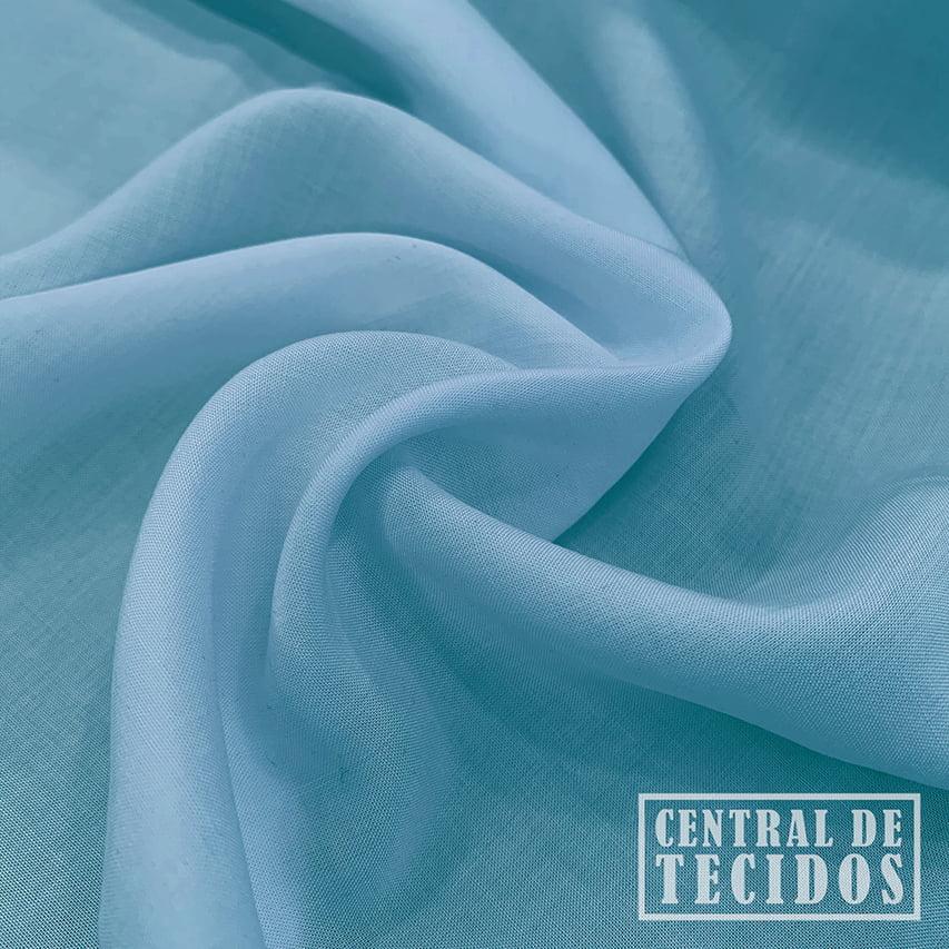 Viscose Poplin | Azul turquesa